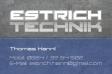Estrichtechnik - Thomas Hannl